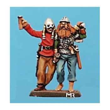 Figurine - Kit à peindre Fête de Vikings - CA-027
