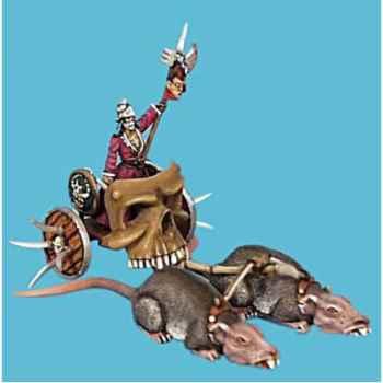 Figurine - Kit à peindre Le chariot de la mort - CA-030