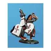 figurine kit a peindre chevalier au combat 2 ca 033