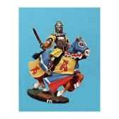 figurine kit a peindre chevalier au combat 3 ca 034