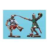 figurine kit a peindre combat de chevaliers 3 ca 039