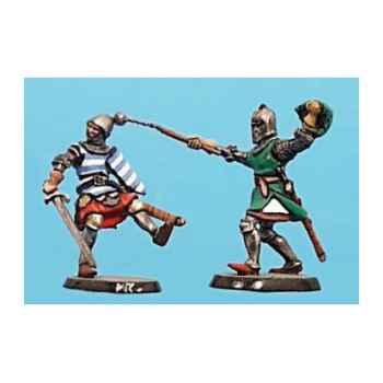Figurine - Kit à peindre Combat de chevaliers 3  - CA-039