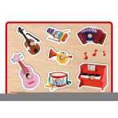 puzzle musicainstruments fleurus janod j07053