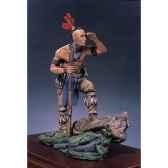 figurine kit a peindre guerrier mohawk s4 f17