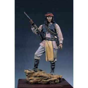 Figurine - Kit à peindre Guerrier apache - S4-F18
