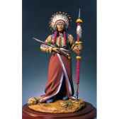 figurine kit a peindre chef sioux s4 f19