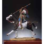 figurine kit a peindre chef sioux s4 f1
