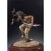 figurine kit a peindre danse du buffle s4 f20
