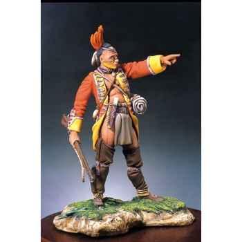 Figurine - Kit à peindre Guerrier Mohawk II - S4-F21