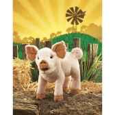 marionnette peluche cochon folkmanis 2949
