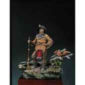 figurine kit a peindre trappeur 1840 s4 f23