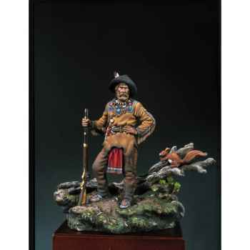 Figurine - Kit à peindre Trappeur  1840 - S4-F23