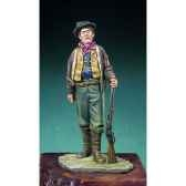 figurine kit a peindre billy the kid 1880 s4 f32