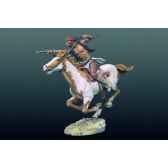 figurine kit a peindre apache a chevas4 f33