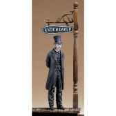 figurine kit a peindre fossoyeur 1880 s4 f36