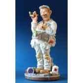figurine peintre profisti pro19