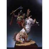 figurine kit a peindre guerrier sioux desarconne s4 f5