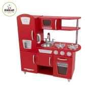 cuisine vintage rouge kidkraft 53173