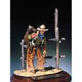 figurine kit a peindre cow boy s4 f7
