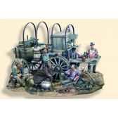 figurine kit a peindre cantine ambulante en 1880 s4 s11