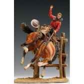 figurine kit a peindre bronco billy en 1880 s4 s12