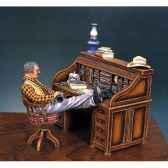 figurine kit a peindre le bureau du sherif en 1880 s4 s2