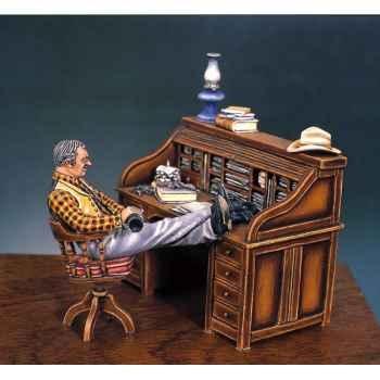 Figurine - Kit à peindre Le bureau du shérif en 1880  - S4-S2