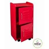 casier de taille moyenne rouge kidkraft 14322