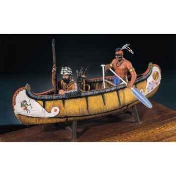 Figurine - Kit à peindre Les maraudeurs de la rivière en 1750 - S4-S4