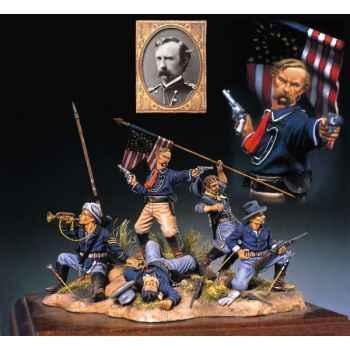 Figurine - Kit à peindre La dernière bataille de Custer - S4-S5