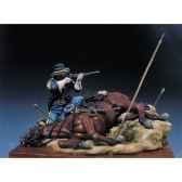 figurine kit a peindre homme abattu en 1876 s4 s7