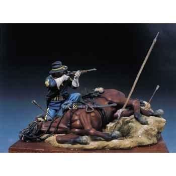 Figurine - Kit à peindre Homme abattu en 1876 - S4-S7