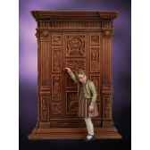 figurine kit a peindre armoire magique narnia 12