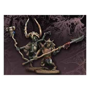 Figurine - Kit à peindre Mad Karnik et Stonebrain Gozbog - WS-09