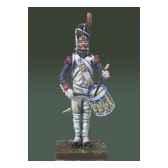 figurine kit a peindre tambour des grenadiers de la garde imperiale en 1810 garde a vous na 003
