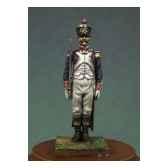 figurine kit a peindre officier d infanterie de ligne en 1810 garde a vous na 005