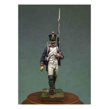 Figurine - Kit à peindre Soldat d'infanterie de ligne en 1810 en marche - NA-007