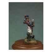 figurine kit a peindre soldat d infanterie de ligne en 1810 a genoux en train de tirer na 009