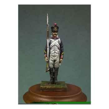 Figurine - Kit à peindre Sergent d'infanterie de ligne en 1810 . Garde-à-vous ! - NA-010