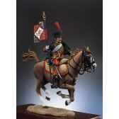 figurine kit a peindre hussard porte etendard s7 f11