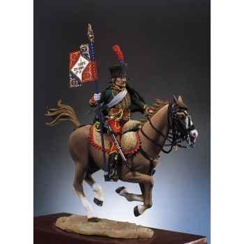 Figurine - Kit à peindre Hussard porte-étendard - S7-F11