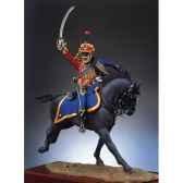figurine kit a peindre lieutenant des hussards s7 f15