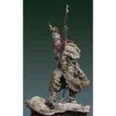 figurine kit a peindre dragon francais en capote en 1812 s7 f33