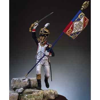 Figurine - Kit à peindre Major, 2e de ligne en 1809 - S7-F3
