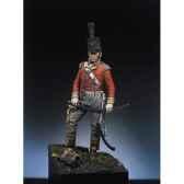 figurine kit a peindre officier britannique en 1815 s7 f7