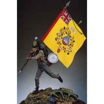 Figurine - Kit à peindre Tambour anglais en 1812 - S7-F9
