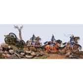 figurine kit a peindre train dartillerie de ligne de larmee de napoleon s7 s02