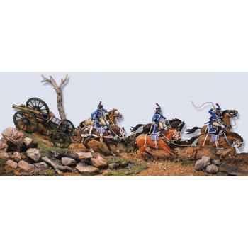 Figurine - Kit à peindre Train d'artillerie de ligne de l'armée de Napoléon - S7-S02