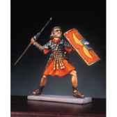 figurine kit a peindre soldat romain lancant un pilum ra 009