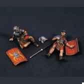 figurine kit a peindre romains blesses 2 ra 015